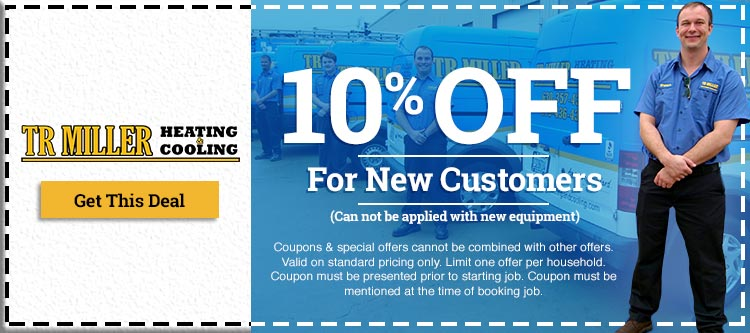 Coupons & Specials - TR Miller Heating & Cooling