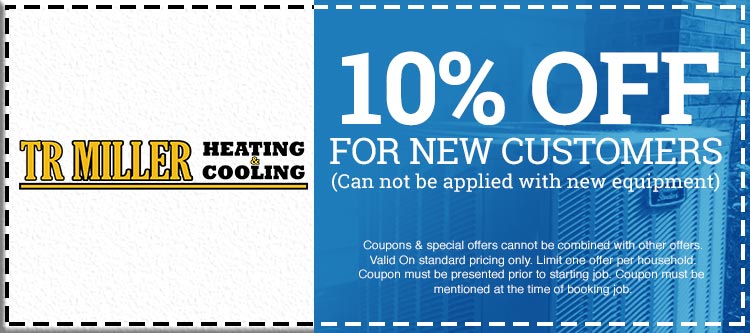 Coupons & Specials - TR Miller Heating & Cooling